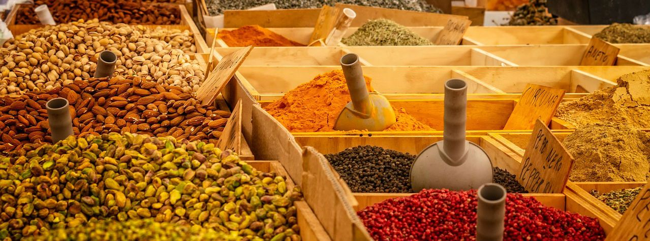 barrel of spices